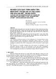 """Báo cáo nghiên cứu khoa học: """"  NGHIÊN CỨU QUÁ TRÌNH BIẾN TÍNH BENTONIT THUẬN HẢI VÀ ỨNG DỤNG HẤP PHỤ ION MN2+ TRONG NƯỚC"""""""