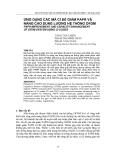 """Báo cáo nghiên cứu khoa học: """"   ỨNG DỤNG CÁC MÃ CI ĐỂ GIẢM PAPR VÀ NÂNG CAO DUNG LƯỢNG HỆ THỐNG OFDM"""""""