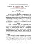 Báo cáo nghiên cứu khoa học: ĐÁNH GIÁ ẢNH HƯỞNG CỦA NHÀ MÁY THUỶ ĐIỆN A VƯƠNG ĐẾN CÁC CHẾ ĐỘ VẬN HÀNH CỦA HỆ THỐNG ĐIỆN VIỆT NAM