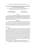 """Báo cáo nghiên cứu khoa học: """"  ĐIỀU KHIỂN ĐỘNG CƠ KHỞI ĐỘNG TUABIN KHÍ М15Э-OM5 BẰNG CẤU TRÚC ĐIỀU KHIỂN LIÊN HOÀN"""""""