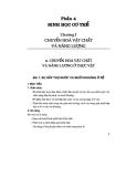 Thiết kế bài giảng sinh học 11 tập 1 part 1