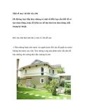 Một số mẹo vặt khi xây nhà
