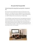 Bảo quản đồ gỗ trong gia đình