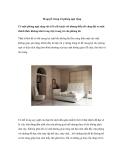 Bí quyết trang trí phòng ngủ rộng