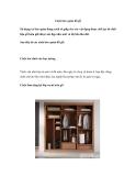 Cách bảo quản đồ gỗ
