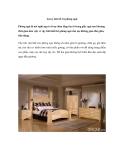 Lưu ý khi bố trí phòng ngủ