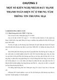 CHƯƠNG 3 MỘT SỐ KIẾN NGHỊ NHẰM ĐẨY MẠNH THANH TOÁN ĐIỆN TỬ Ở TRUNG TÂM THÔNG TIN THƯƠNG MẠI