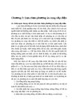 Chương 3: Lựa chọn phương án cung cấp điện