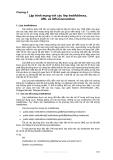 Lập trình mạng với java - Chương 5