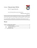 Giáo trình hướng dẫn thực tập môi trường Đồ Sơn phần 2