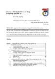 Giáo trình xử lý bức xạ và cơ sở của công nghệ bức xạ chương 2
