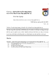 Giáo trình xử lý bức xạ và cơ sở của công nghệ bức xạ chương 4