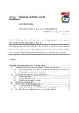 Giáo trình xử lý bức xạ và cơ sở của công nghệ bức xạ chương 6