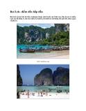 Tài liệu du lịch - Rai Leh- điểm đến hấp dẫn