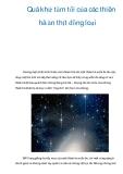 Quá khứ tăm tối của các thiên hà ăn thịt đồng loại