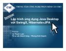 Lập trình ứng dụng Java Desktop với SwingX, Hibernate+JPA