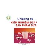 Kiểm nghiệm thú sản - Chương 10: Kiểm nghiệm sữa và sản phẩm sữa