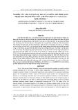 """Báo cáo nghiên cứu khoa học: """"NGHIÊN CỨU CHẤT LƯỢNG DỰ BÁO CỦA NHỮNG MÔ HÌNH QUẢN TRỊ RỦI RO THỊ TRƯỜNG VỐN - TRƯỜNG HỢP CỦA VALUE-ATRISK MODELS 1"""""""