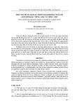"""Báo cáo nghiên cứu khoa học: """"  MỘT SỐ CHỈ TỐ LỊCH SỰ TRONG HÀNH ĐỘNG NGỎ LỜI GIÚP ĐỠ BẰNG TIẾNG ANH VÀ TIẾNG VIỆT"""""""