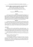 """Báo cáo nghiên cứu khoa học: """"CHƯƠNG TRÌNH AUTOLISP TẠO ĐƯỜNG CONG THÂN KHAI ĐƯỜNG TRÒN TÍCH HỢP VÀO AUTOCAD"""""""