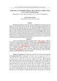 """Báo cáo nghiên cứu khoa học: """"  NGHỆ THUẬT CHÂM BIẾM TRONG TIỂU THUYẾT GATSBY VĨ ĐẠI CỦA F. SCOTT FITZGERALD"""""""