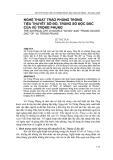 """Báo cáo nghiên cứu khoa học: """"  NGHỆ THUẬT TRÀO PHÚNG TRONG TIỂU THUYẾT SỐ ĐỎ, TRÚNG SỐ ĐỘC ĐẮC CỦA VŨ TRỌNG PHỤNG"""""""