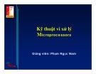 Kỹ thuật vi xử lý Microprocessors - Phần 1
