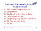 Bài giảng kỹ thuật số - Chương 2