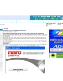 Hướng dẫn cách ghi đĩa bằng phần mềm Nero