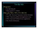 Bài giảng : Xét nghiệm và chẩn đoán bệnh giang mai part 5