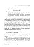Chương 11. PHƯƠNG PHÁP LẬP BÁO CÁO TÀI CHÍNH DOANH NGHIỆP