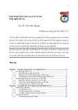 Giáo trình Xử lý bức xạ và cơ sở của công nghệ bức xạ - GS. TS. Trần Đại Nghiệp Phần 1