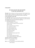 [Kế Toán Ngân Hàng] Chương thứ tám  KẾ TOÁN NGUỒN VỐN CHỦ SỞ HỮU VÀ KẾT QUẢ KINH DOANH