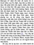 TÌM HIỂU CỘNG ĐỒNG NGƯỜI CHĂM TẠI VIỆT NAM - Tác giả: Nguyễn Văn Huy Phần 2