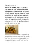 8 giống cây ăn quả mới