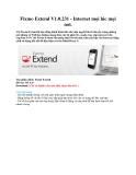 Fixmo Extend V1.0.231 - Internet mọi lúc mọi nơi
