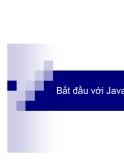 Bắt đầu với lập trình Java phần 1