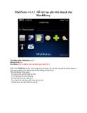 MiniNotes v1.1.1 Hỗ trợ tạo ghi chú nhanh cho BlackBerry