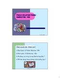 giáo trình PUBLIC RELATION TRONG MARKETING phần 1