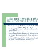 Bệnh học thủy sản : BIỆN PHÁP PHÒNG BỆNH TỔNG HỢP TRONG NUÔI TRỒNG THỦY SẢN part 1