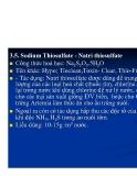 Bệnh học thủy sản : Các loại thuốc thương dùng part 7