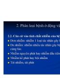 Bệnh học thủy sản : ĐỊNH NGHĨA, ĐẶC ĐIỂM VÀ PHÂN LOẠI BỆNH Ở ĐỘNG VẬT part 2