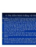 Bệnh học thủy sản : ĐỊNH NGHĨA, ĐẶC ĐIỂM VÀ PHÂN LOẠI BỆNH Ở ĐỘNG VẬT part 4