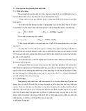 Giáo trình Lý thuyết các quá trình luyện kim - Chương 3