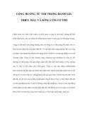 CỘNG HƯỞNG TỪ TIM TRONG ĐÁNH GIÁ THIẾU MÁU VÀ SỐNG CÒN CƠ TIM