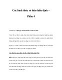 Các hình thức sở hữu hiến định – Phần 4
