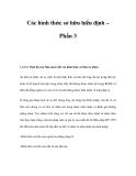 Các hình thức sở hữu hiến định – Phần 3