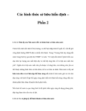 Các hình thức sở hữu hiến định – Phần 2