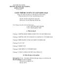 GIÁO TRÌNH CƠ SỞ CẮT GỌT KIM LOẠI - CHƯƠNG 1