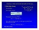 Bài giảng điều khiển tự động - Chương 3